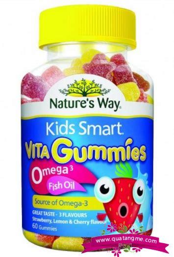 Natures Way Smart Vita Gummies Omega 3 Multi 1 nature s way smart vita gummies omega 3 fish 60 vi 234 n