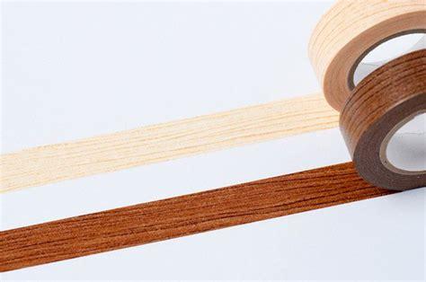 decorative wood grain duct tape colte washi masking tape brown wood grain masking tape