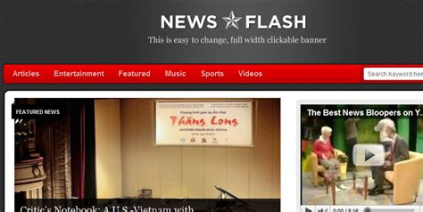 news flash template start a news site with news flash wp solver