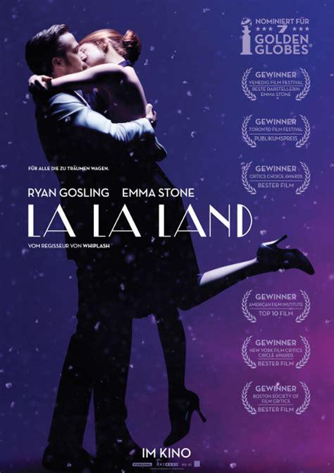 Plakat La La Land by Filmplakat La La Land 2016 Plakat 5 7