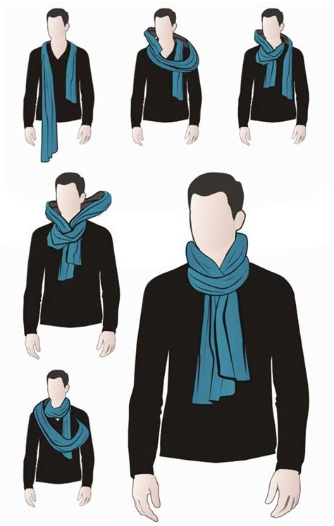 scarf draping 4 fashionable ways to tie a scarf for men your average guy