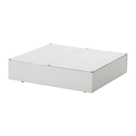 under bed storage ikea vard 214 underbed storage box white ikea