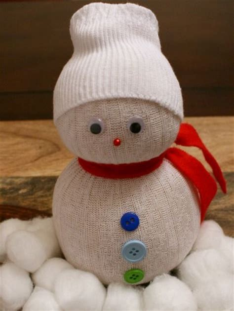 snowman sock snowman and sock on pinterest