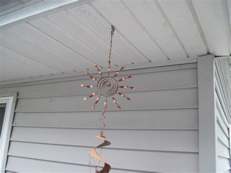 proper way to hang lights hang wind chime from soffit for our home