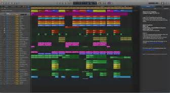 rock for live logic pro x template