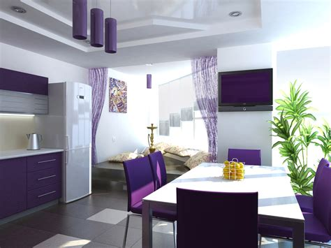 contemporary kitchen design ideas tips interior design trends 2017 purple kitchen
