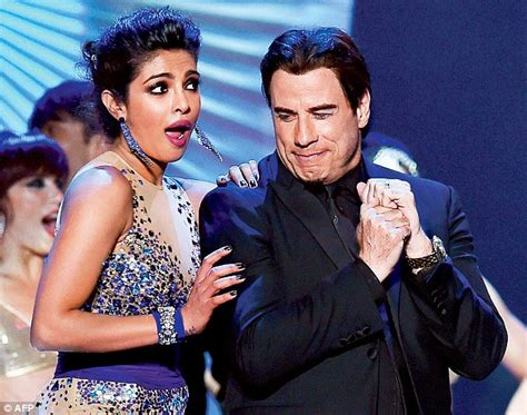 priyanka chopra dance in iifa awards hollywood meets bollywood john travolta and kevin spacey