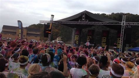 color run pittsburgh pittsburgh color run finish festival