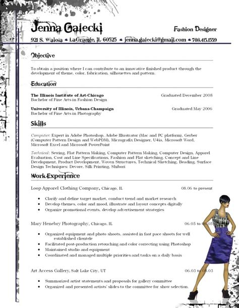 Wardrobe Consultant Sle Resume by Fashion Designer Resume Sle Resumecompanion 28 Images Best Resume Of Fashion Designer 28