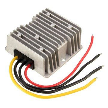 Adaptor 12v 20a dc 24v to 12v 240w 20a step power converter regulator adaptor wg 24s1220 sale banggood