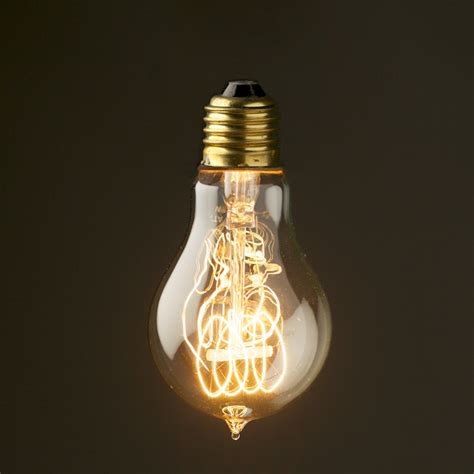 Antique Light Bulbs by Vintage Edison Tungsten Filament Bulb