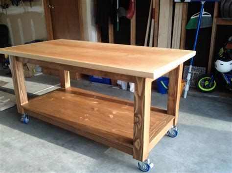 build work bench ana white workbench diy projects