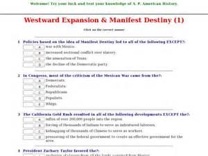 Westward Expansion Essay by Manifest Destiny Worksheet Worksheet Workbook Site