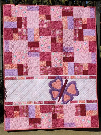 watercolor quilt pattern with cats and butterflies 17 migliori immagini su baby quilt patterns su pinterest