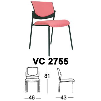 Daftar Kursi Susun Quadra kursi susun chairman type vc 2755 daftar harga furniture