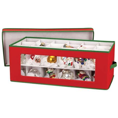 holiday ornament storage chest storage ornaments