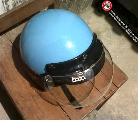 Helm Bogo Biru helm vespa bogo ksct biru muda helm vespa