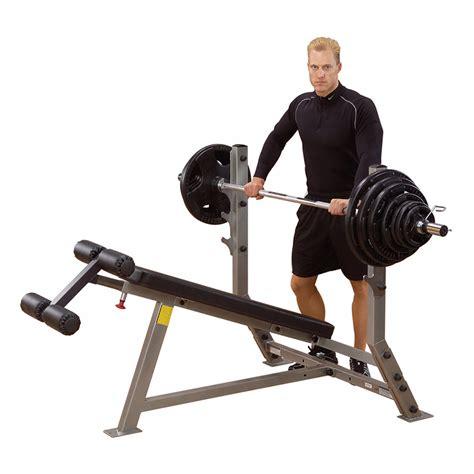 body solid decline bench body solid decline olympic bench sdb351g incredibody