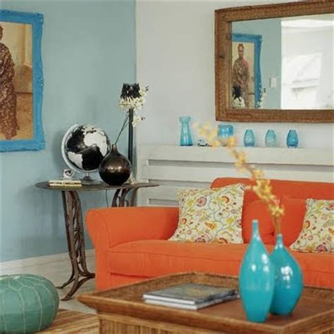 blue and orange decor southgate residential color inspiration blue and orange