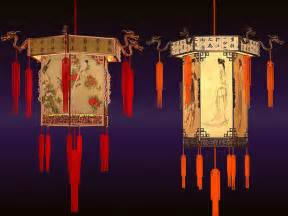 High quality model of chinese lanterns textures and materials are