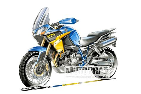 Yamaha Motorrad Tenere 700 by Xtz 700 Yamaha S New Mid Size T 233 N 233 R 233 I D Rather Be Riding