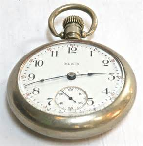 Elgin pocketwatch 11 jewels 19c omero home