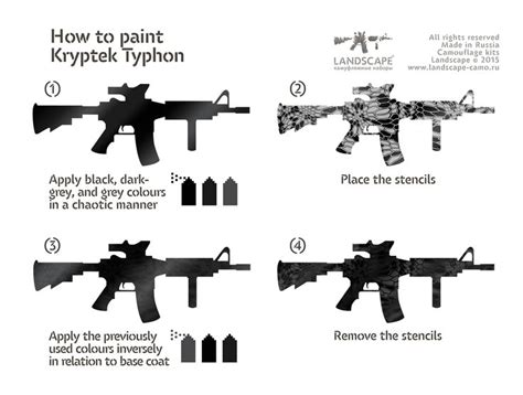 Lackieren Mit Pistole Lernen by How To Paint Kryptek Typhon Camoflauge Patterns