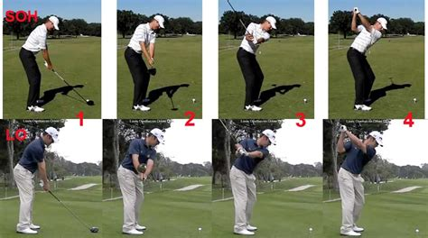 easiest golf swing to copy the take away in the golf swing lag behind to get ahead