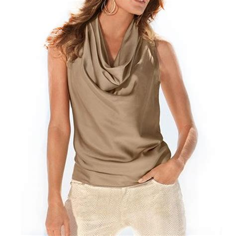 Blouse Tank Top new summer vest top sleeveless blouse casual tank