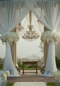 white wedding drapes it all says i do