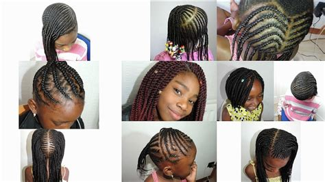 kids hairstyles 2017 cornrows boxbraids crochet