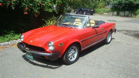 fiat spider 1978 1978 fiat 124 spider for sale 1866735 hemmings motor
