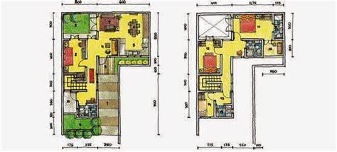desain rumah leter l denah new denah rumah minimalis leter l