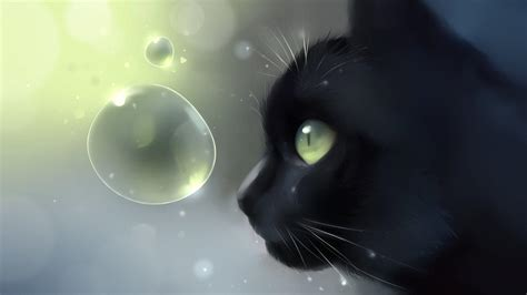 Anime Kitten by Anime Cat Wallpapers Wallpaper Cave