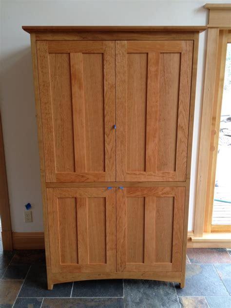 Pocket Door Cabinet Cherry Quot Prairie Quot Media Cabinet With Pocket Doors Boulder Furniture Arts