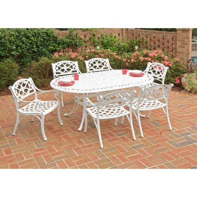 home styles biscayne white 7 patio dining set 5552