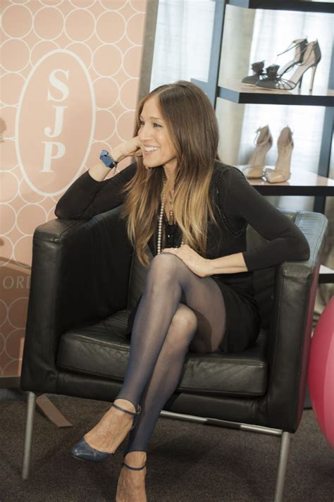 The New Sjp by Style Icon Sjp Talks With Fans About New Shoe
