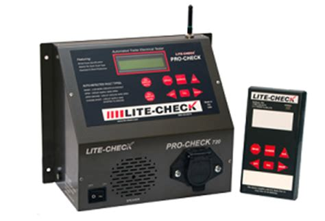 Trailer Light Tester Box by Lite Check Pro Check 720 Trailer Lights And