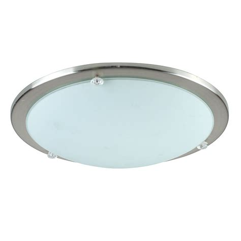 Modern Ceiling Light Fittings Modern Chrome Glass Flush Dome Bathroom Ceiling Light Fittings Lights Ebay