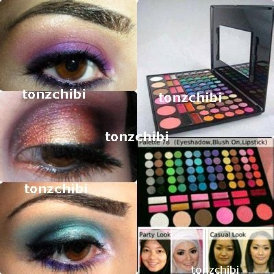 Make Up Mac 78 Warna mac make up pallette 78 warna membuat penilan wajah