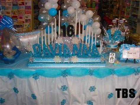 Winter Wonderland Decorations For Sweet 16 Long Island Winter Centerpieces Sweet 16