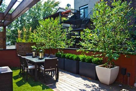 feuerstelle für balkon idee mediterran terrasse
