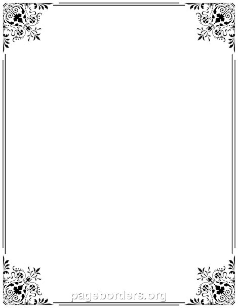 Wilton Ms Word Templates Silver Border Place Cards by Pin By Perry On Crafts Clip