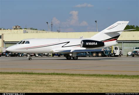 n166ra dassault falcon 20f royal air freight dj reed jetphotos