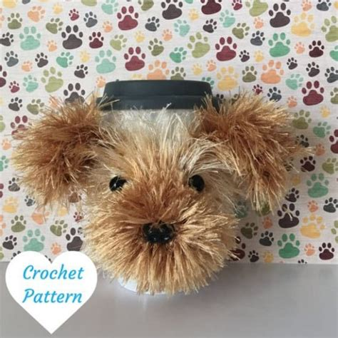 yorkie crochet pattern crochet cozy makes the gift the whoot