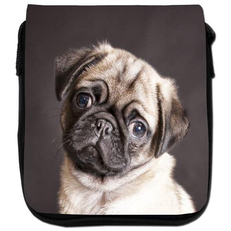 pug rug pug on a rug black canvas shoulder bag ebay