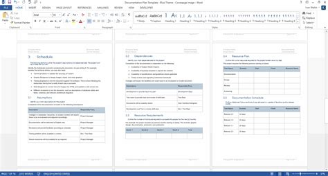 documentation plan template download 28 page ms word