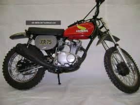Honda 1975 Motorcycle 75 1975 Honda Xr75 Motorcycle Xr 75 Xr 75