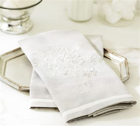 guest towels for bathroom snowflake embroidered guest towels contemporary bath