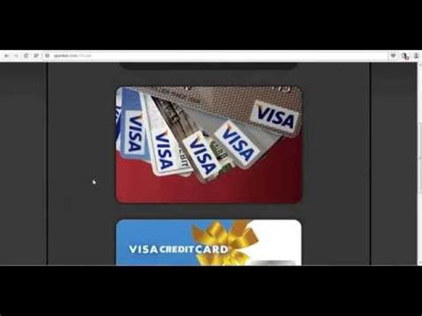 Credit Card Giveaway - giveaway 249 credit card by visa gift card by visa youtube